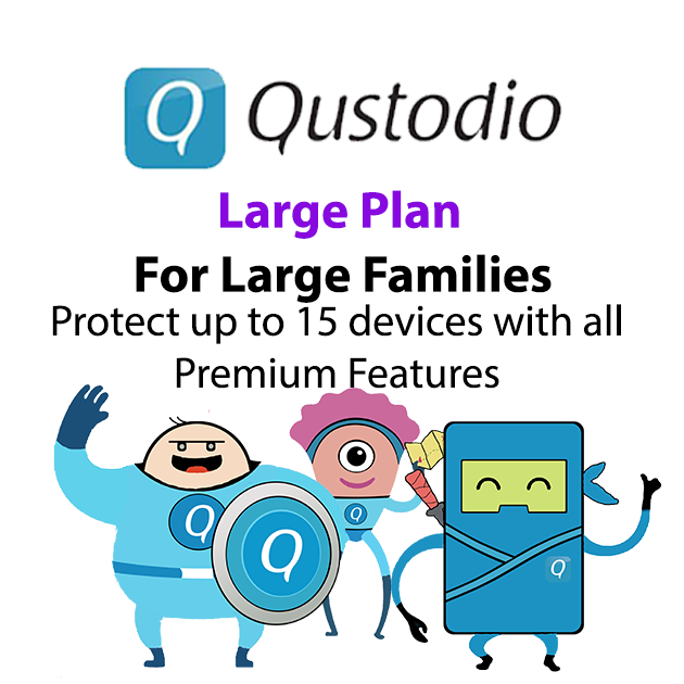 Qustudio Preduct Large Family