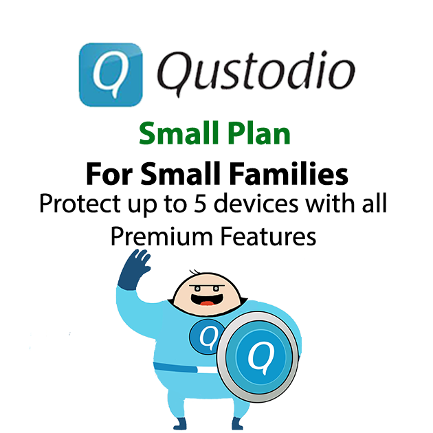 Qustudio Preduct Small Family