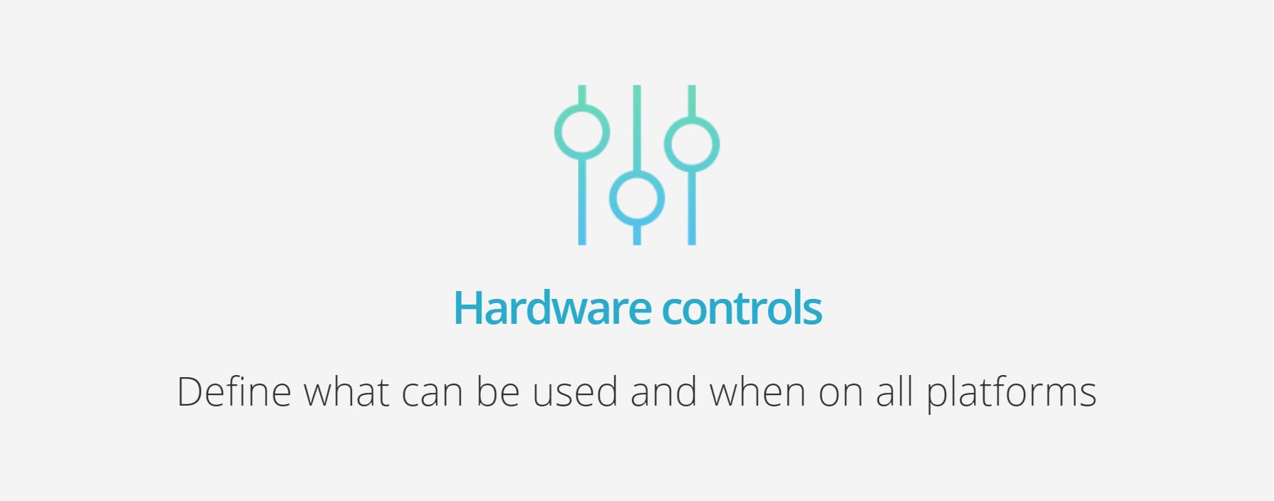 Qustodio Hardware Controls